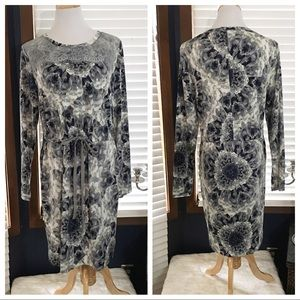 Simply Vera Wang Floral Lace Dress Large